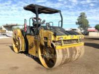 CATERPILLAR VIBRATORY DOUBLE DRUM ASPHALT CB66B equipment  photo 1