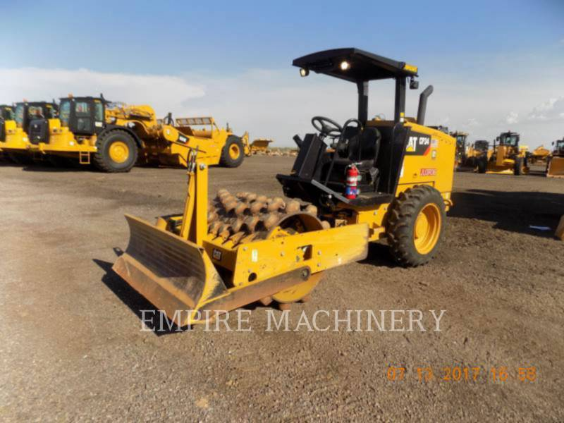 CATERPILLAR EINZELVIBRATIONSWALZE, BANDAGE CP34 equipment  photo 4