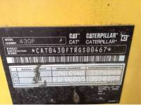 CATERPILLAR BAGGERLADER 430F IT4WE equipment  photo 9