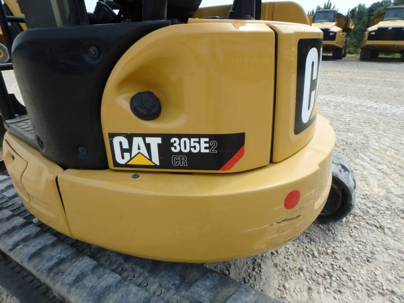 CATERPILLAR PELLES SUR CHAINES 305E2CR equipment  photo 19