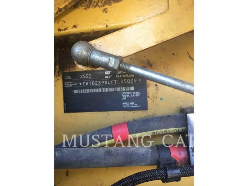 CATERPILLAR CHARGEURS TOUT TERRAIN 259D equipment  photo 5