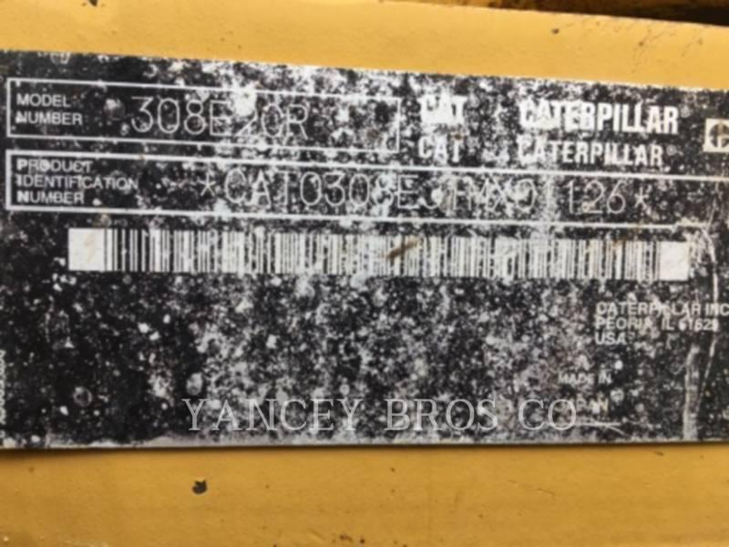 CATERPILLAR PELLES SUR CHAINES 308ECR SB equipment  photo 8