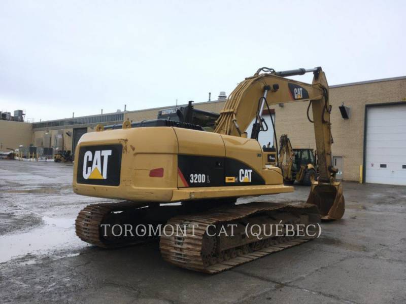 CATERPILLAR KETTEN-HYDRAULIKBAGGER 320DL equipment  photo 3