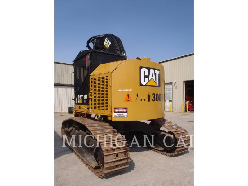CATERPILLAR MACHINE FORESTIERE 501HD equipment  photo 4