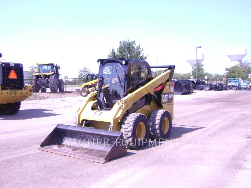 CATERPILLAR MINICARGADORAS 262D HF equipment  photo 1