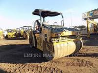 CATERPILLAR VIBRATORY DOUBLE DRUM ASPHALT CB66B equipment  photo 3
