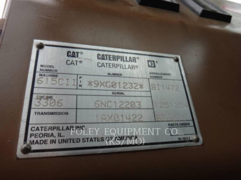 CATERPILLAR DECAPEUSES AUTOMOTRICES 615CII equipment  photo 6