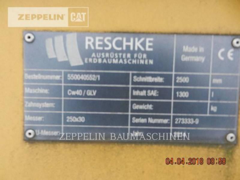 RESCHKE TRENCHERS GLV2500 CW40 equipment  photo 5