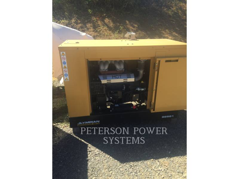 CATERPILLAR STATIONARY GENERATOR SETS 25KW OLY equipment  photo 2