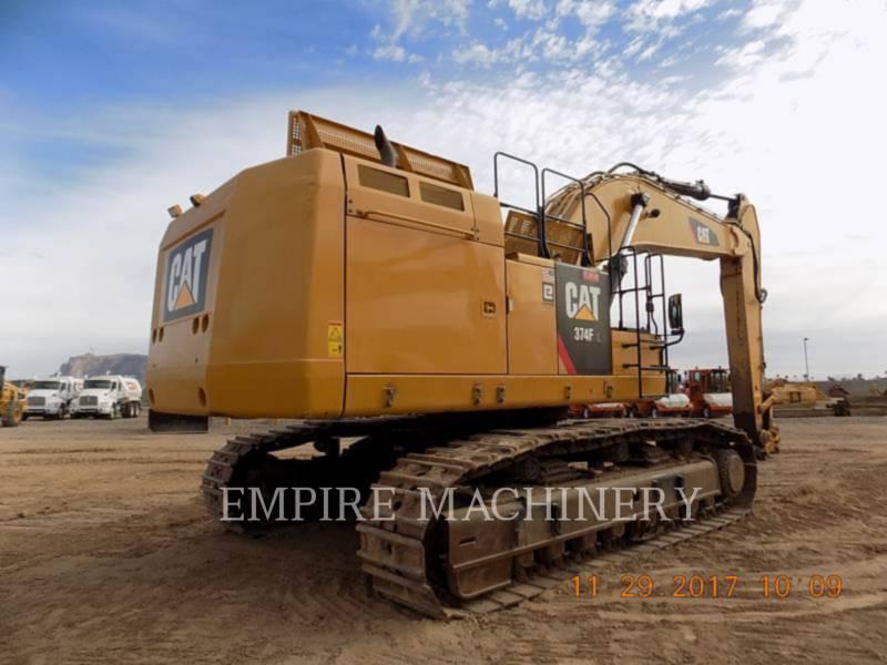 CATERPILLAR TRACK EXCAVATORS 374FL equipment  photo 2