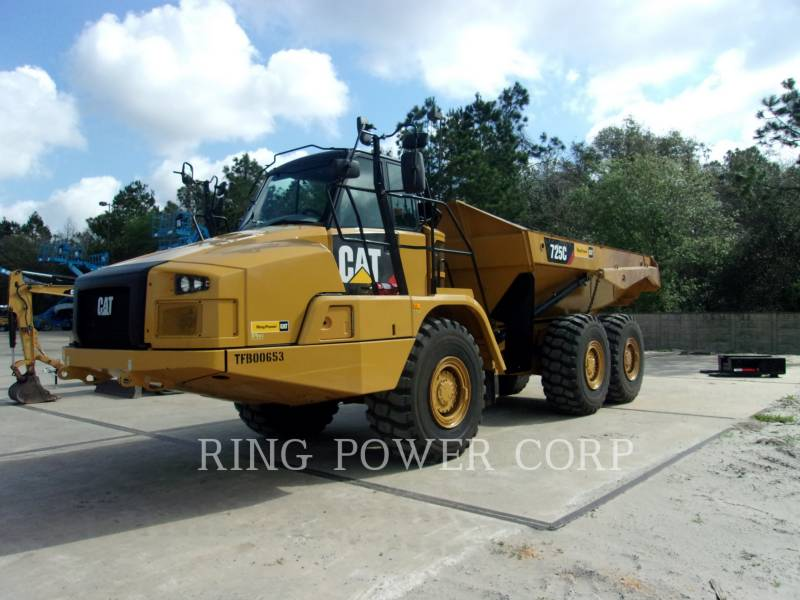 Caterpillar CAMIOANE ARTICULATE 725CTG equipment  photo 1