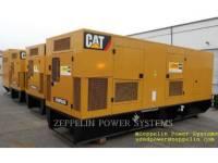 Equipment photo CATERPILLAR C18 CAT REBUILD CANOPY PORTABLE GENERATOR SETS 1