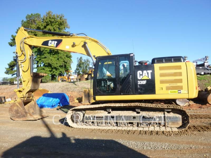 CATERPILLAR TRACK EXCAVATORS 330F TH equipment  photo 1