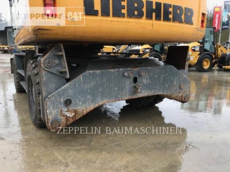 LIEBHERR PELLES SUR PNEUS A914CLIT equipment  photo 9