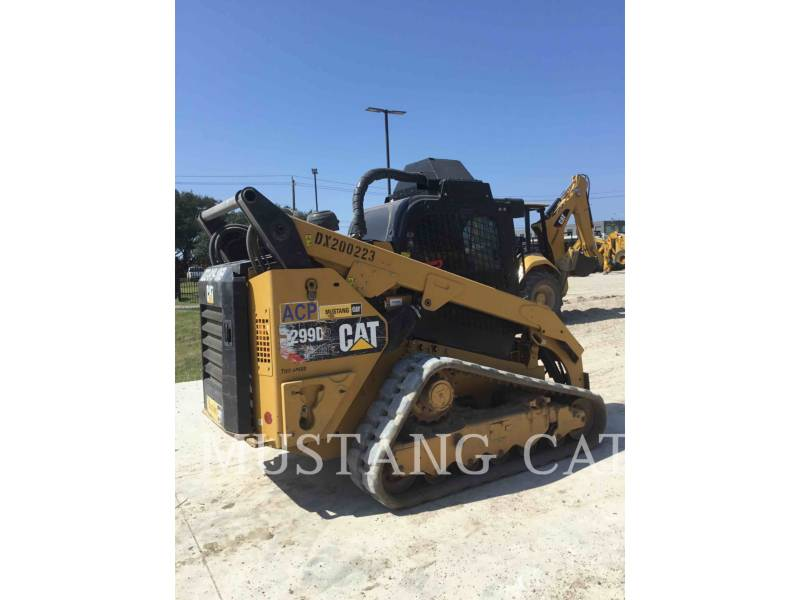 CATERPILLAR CARGADORES MULTITERRENO 299D2XHP equipment  photo 2
