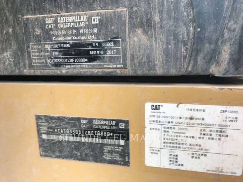 CATERPILLAR ESCAVATORI CINGOLATI 330D2L equipment  photo 3