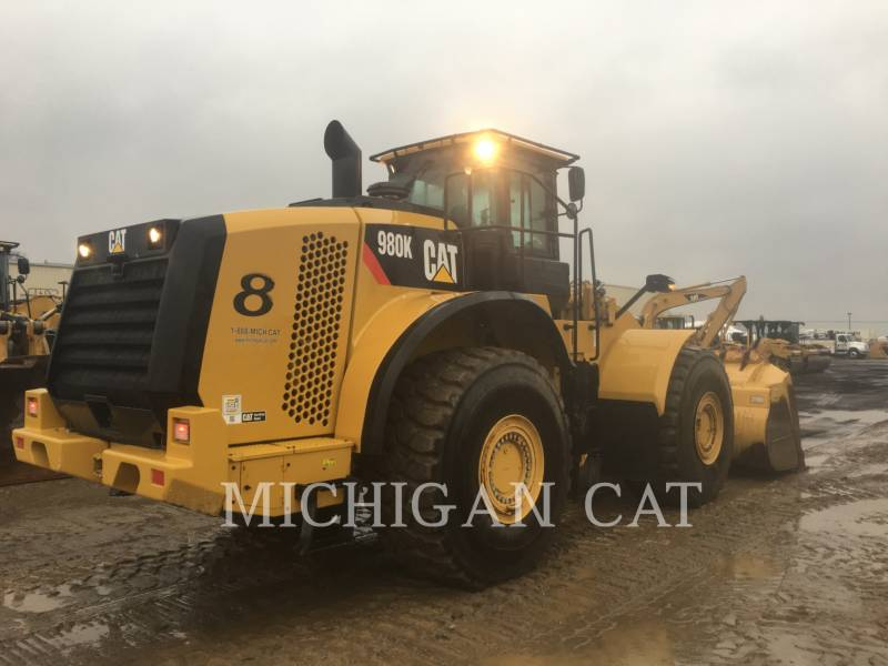 Caterpillar ÎNCĂRCĂTOARE PE ROŢI/PORTSCULE INTEGRATE 980K LC equipment  photo 3