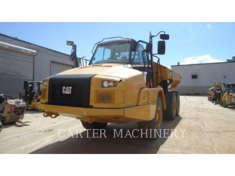 CATERPILLAR KNICKGELENKTE MULDENKIPPER 725C equipment  photo 2