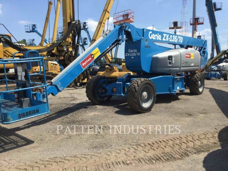 GENIE INDUSTRIES LIFT - BOOM ZX135 equipment  photo 4
