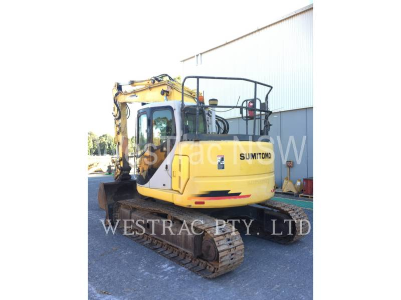 SUMITOMO PELLES SUR CHAINES SH125X-3 equipment  photo 4