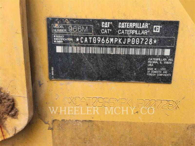 CATERPILLAR CARGADORES DE RUEDAS 966M QC 3V equipment  photo 5