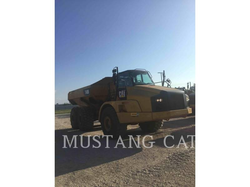 CATERPILLAR DUMPER ARTICOLATI 740B equipment  photo 2