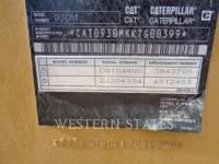 CATERPILLAR WIELLADERS/GEÏNTEGREERDE GEREEDSCHAPSDRAGERS 930M equipment  photo 16