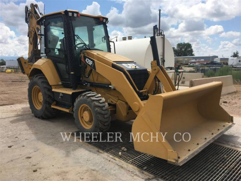 CATERPILLAR BACKHOE LOADERS 420F2 E CF equipment  photo 2