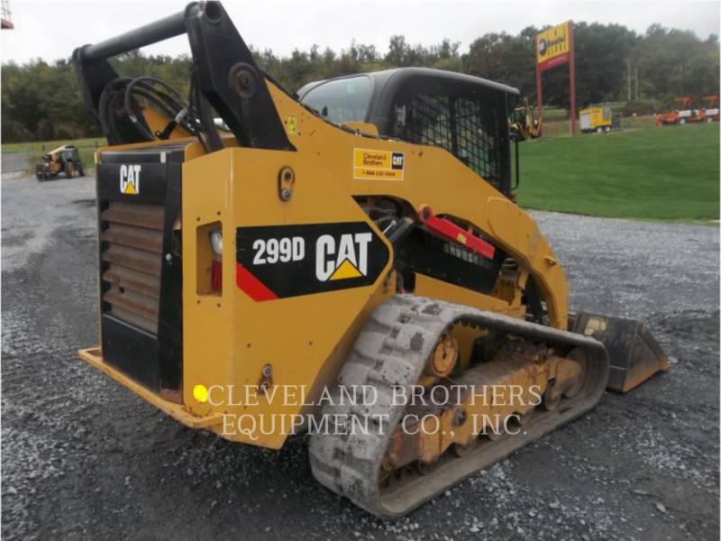 CATERPILLAR PALE CINGOLATE MULTI TERRAIN 299D equipment  photo 4
