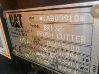 CATERPILLAR BRUSH CUTTER, INDUSTRIAL, OTHER BR172 equipment  photo 3