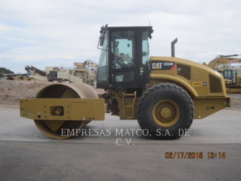CATERPILLAR COMPACTADORES DE SUELOS CS54BLRC equipment  photo 3