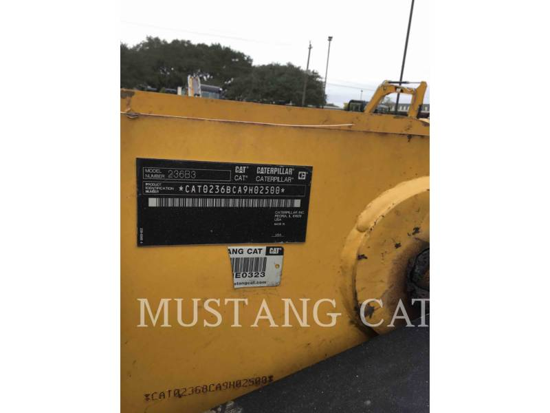 CATERPILLAR CHARGEURS COMPACTS RIGIDES 236B3 equipment  photo 5