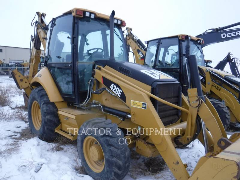 CATERPILLAR RETROEXCAVADORAS CARGADORAS 420E equipment  photo 8