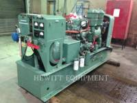 DETROIT DIESEL STATIONARY GENERATOR SETS 6-71, 100KW 120/208 VOLTS equipment  photo 4