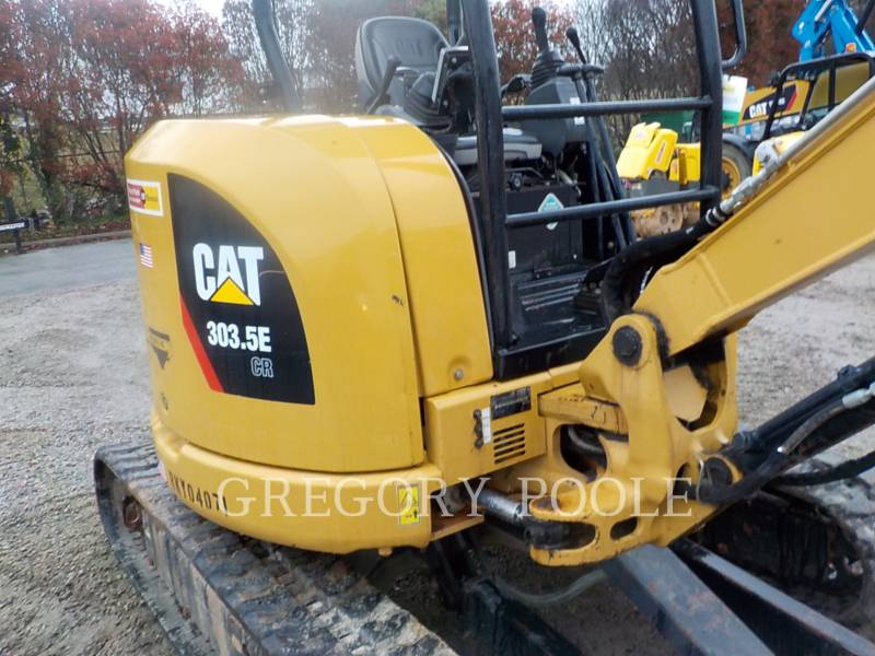 CATERPILLAR PELLES SUR CHAINES 303.5E CR equipment  photo 3