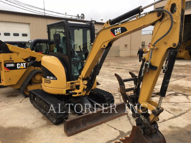 CATERPILLAR ESCAVATORI CINGOLATI 303.5DCR equipment  photo 2