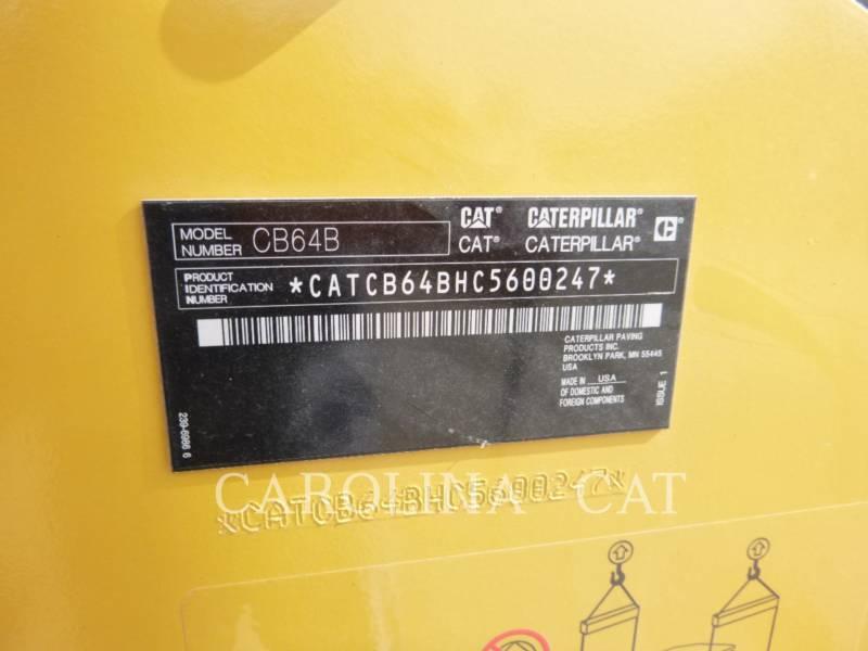 CATERPILLAR WALCE CB64B equipment  photo 7