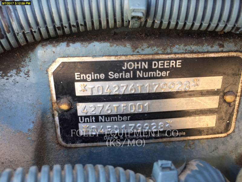 DETROIT DIESEL STATIONARY - DIESEL 4276TF001E equipment  photo 2