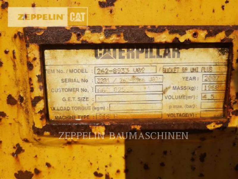 CATERPILLAR 轮式装载机/多功能装载机 966H equipment  photo 17
