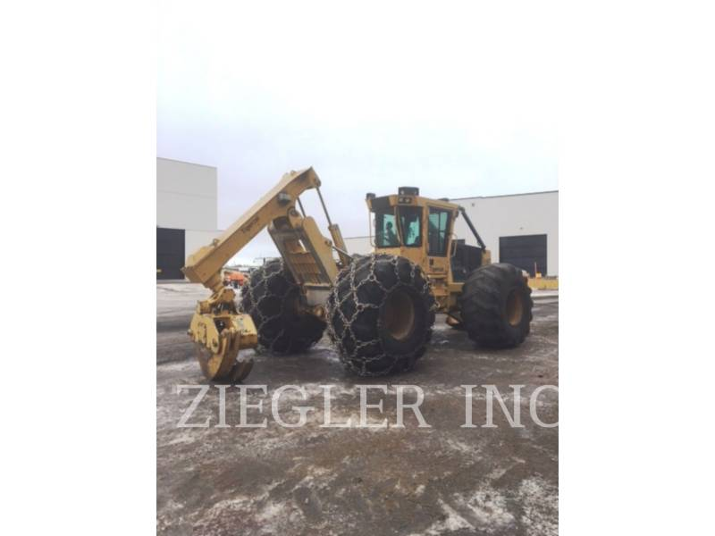 TIGERCAT FORESTRY - SKIDDER 610 C equipment  photo 22
