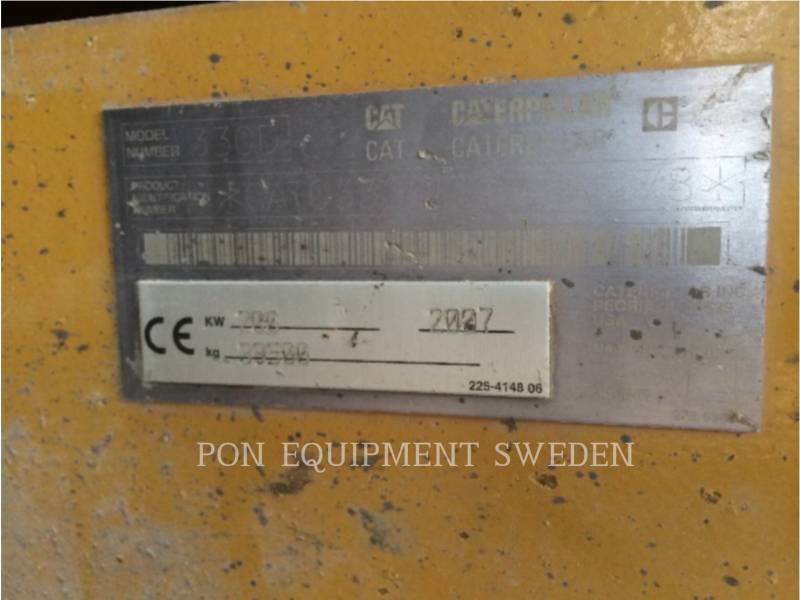 CATERPILLAR EXCAVADORAS DE CADENAS 330DL HDHW equipment  photo 8