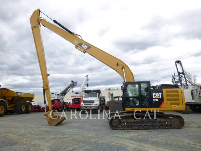 CATERPILLAR TRACK EXCAVATORS 324E LR equipment  photo 1