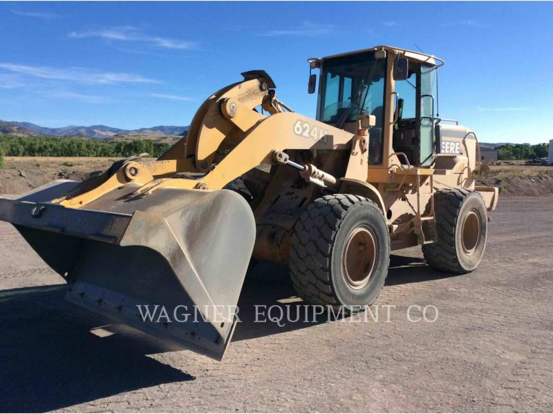 DEERE & CO. WHEEL LOADERS/INTEGRATED TOOLCARRIERS 624H equipment  photo 1