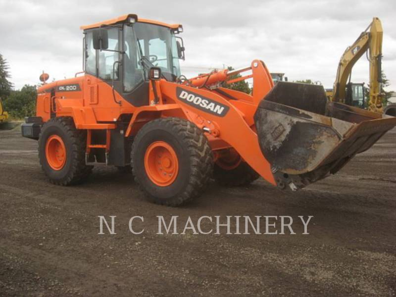 DOOSAN INFRACORE AMERICA CORP. RADLADER/INDUSTRIE-RADLADER DL200-3 equipment  photo 2