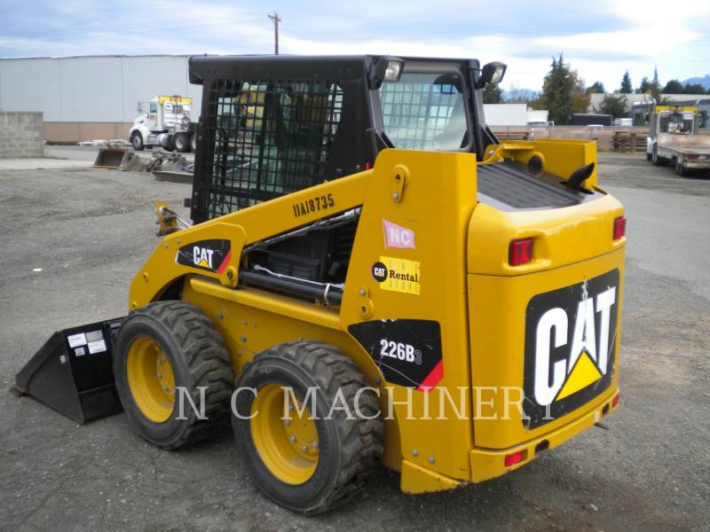 CATERPILLAR スキッド・ステア・ローダ 226B3 CB equipment  photo 4