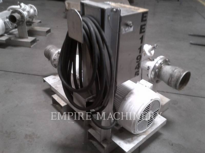 MISC - ENG DIVISION HVAC : CHAUFFAGE, VENTILATION, CLIMATISATION (OBS) PUMP 25HP equipment  photo 2