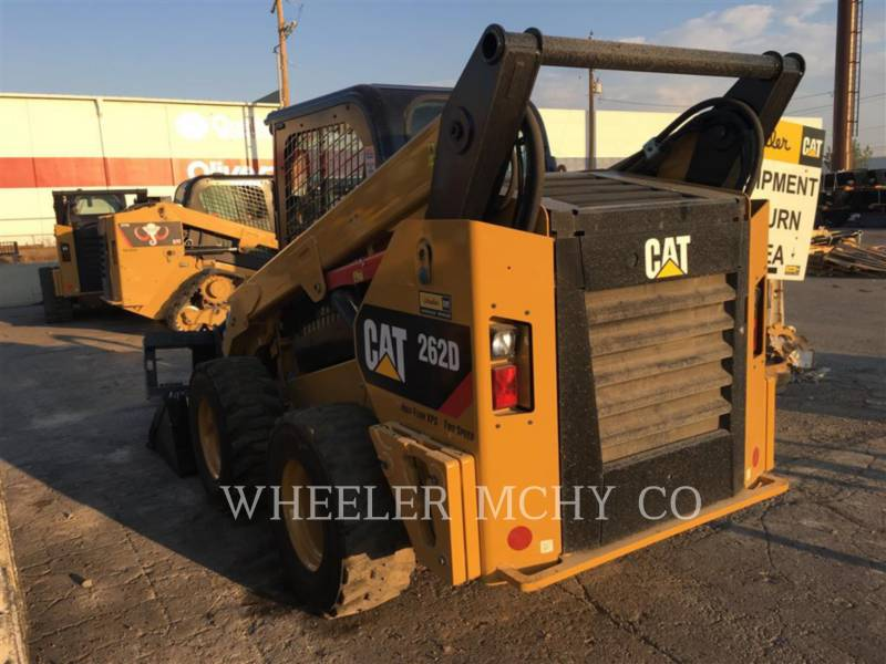 CATERPILLAR SKID STEER LOADERS 262D C3HF2 equipment  photo 2