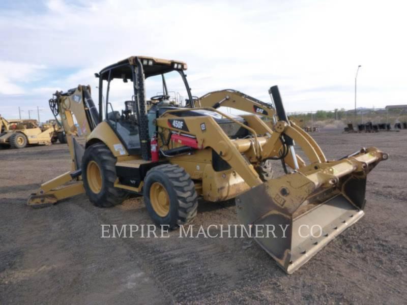 CATERPILLAR バックホーローダ 450F 4EOMP equipment  photo 1