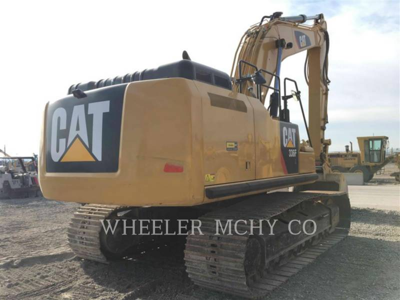 CATERPILLAR TRACK EXCAVATORS 336F L CF equipment  photo 1