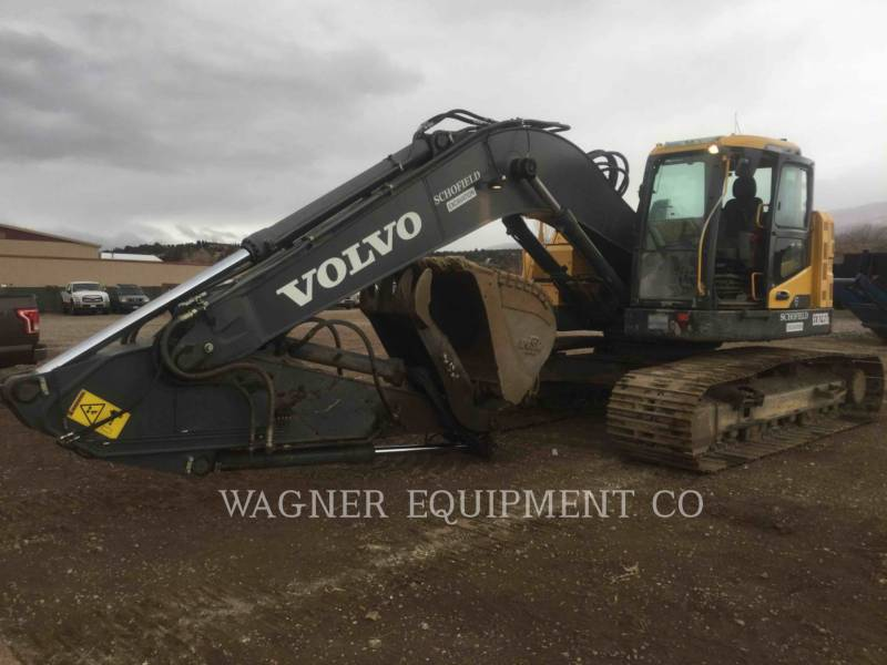 VOLVO CONSTRUCTION EQUIPMENT KETTEN-HYDRAULIKBAGGER ECR 235DL equipment  photo 1